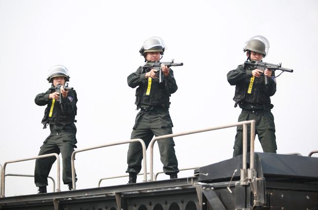 Ảnh: 5.200 chiến sĩ diễn tập bảo vệ Đại hội Đảng - 12