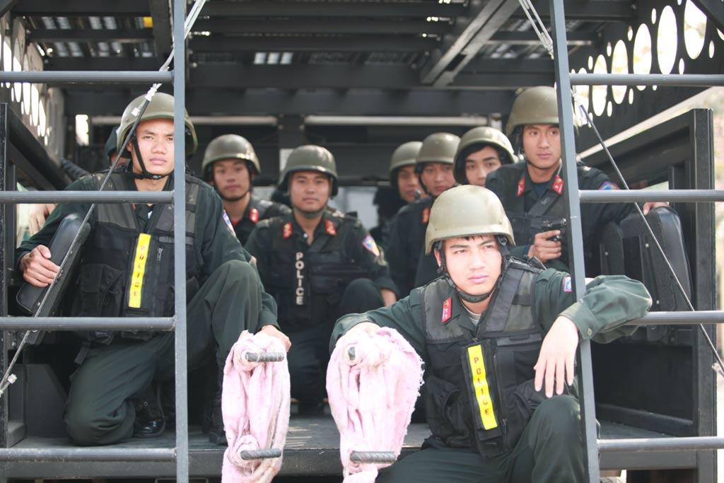 Ảnh: 5.200 chiến sĩ diễn tập bảo vệ Đại hội Đảng - 10