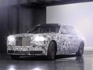 Lộ Rolls-Royce Phantom dùng nền tảng khung nhôm mới