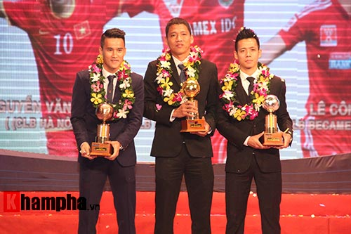 Qua bong vang Viet Nam nam 2015 - 2