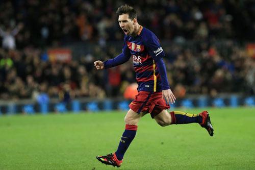 Lập cú đúp siêu hạng, Messi có thêm kỉ lục - 1