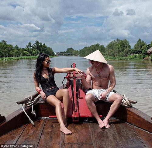 Zac Efron tình tứ cùng bạn gái du ngoạn Việt Nam - 2