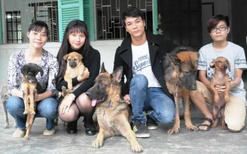 Chàng trai Hà Tĩnh thuê trọ cứu chó mèo bị bỏ rơi ở Huế - 5