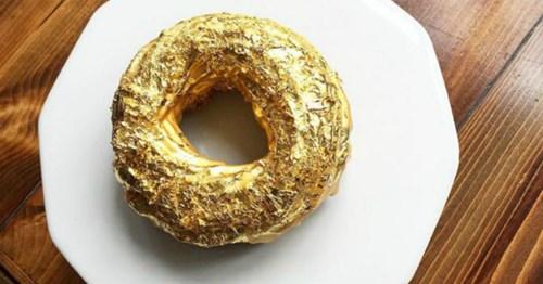 Lóa mắt với bánh rán phủ vàng giá hơn 2 triệu đồng - 3