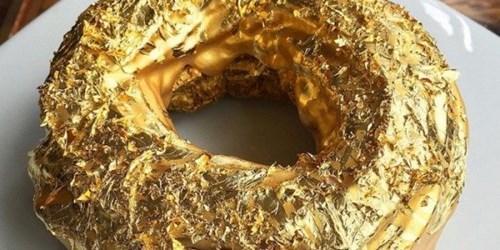Lóa mắt với bánh rán phủ vàng giá hơn 2 triệu đồng - 2