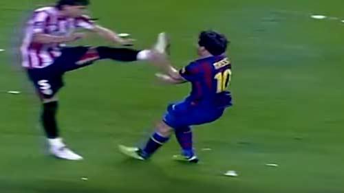 Messi: Nạn nhân của những pha chơi xấu kinh hoàng nhất - 5