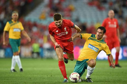 Gerrard & các huyền thoại Liverpool bùng nổ tại Úc - 8