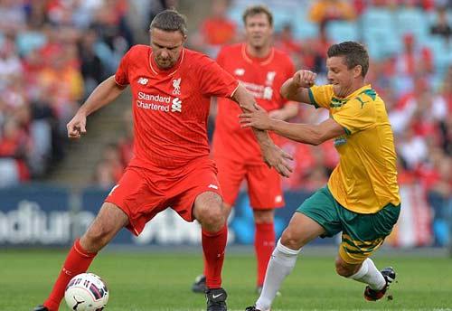 Gerrard & các huyền thoại Liverpool bùng nổ tại Úc - 10