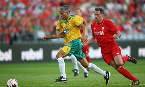 Gerrard & các huyền thoại Liverpool bùng nổ tại Úc - 9
