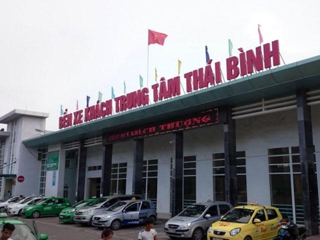 Thái Bình: Xe giường nằm bị đánh cắp ngay trong bến - 1