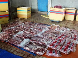Thị trường - Tiêu dùng - Gần 3 tấn thịt trâu nhúng hóa chất thành thịt bò