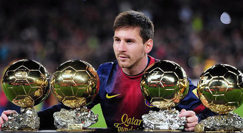 Danh hiệu QBV: Messi xứng đáng với những tin đồn - 2