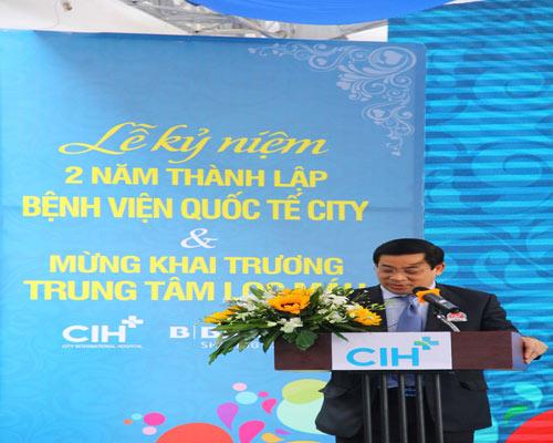 BV Quốc tế City kỷ niệm 2 năm thành lập và ra mắt trung tâm lọc máu - 1