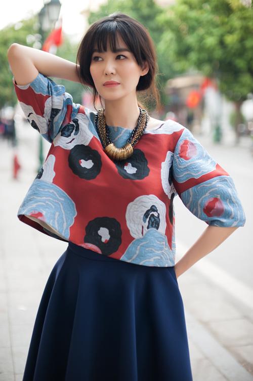 Hoa hậu Thu Thủy khoe vẻ đẹp 'quên tuổi' - 11