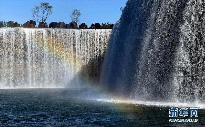 Ngắm thác nước nhân tạo lớn nhất châu Á - 2