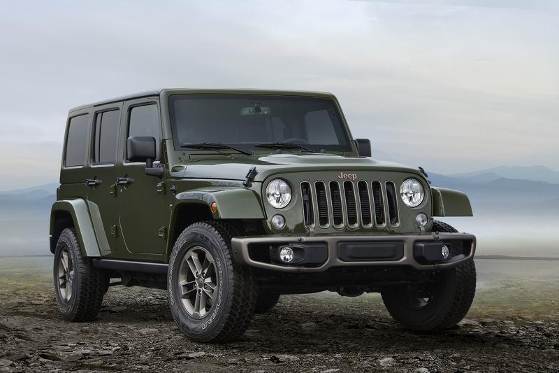 Jeep tung loạt phiên bản đặc biệt nhân dịp kỷ niệm 75 năm phát hành - 1
