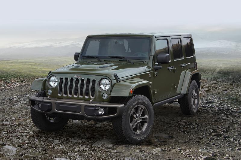 Jeep tung loạt phiên bản đặc biệt nhân dịp kỷ niệm 75 năm phát hành - 4