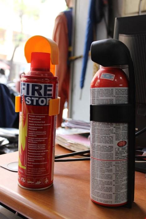 Giải đáp 10 nỗi lo về bình cứu hỏa trên xe ô tô - 2