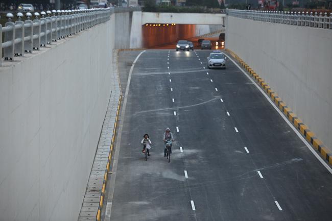 Thông xe 2 hầm chui, cửa ngõ Thủ đô thông thoáng bất ngờ - 6
