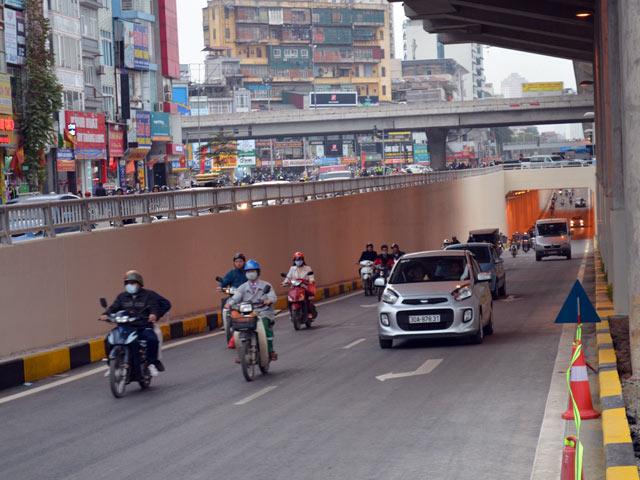 Thông xe 2 hầm chui, cửa ngõ Thủ đô thông thoáng bất ngờ - 13