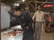 Video An ninh - Bắt hơn 600 kg thịt bê, dê, thỏ bốc mùi hôi thối