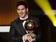 Bóng đá - Danh hiệu QBV: Messi xứng đáng với những tin đồn
