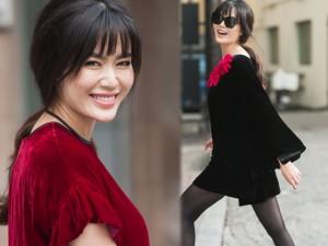 Thời trang - Hoa hậu Thu Thủy khoe vẻ đẹp 'quên tuổi'