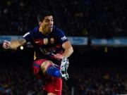 Bóng đá - Gây hấn cầu thủ Espanyol, Suarez bị treo giò