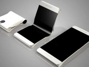 """Điện thoại """"gập đôi"""" màn hình của Samsung sắp ra mắt"""