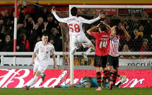 Video Liverpool vs Exeter City - 1