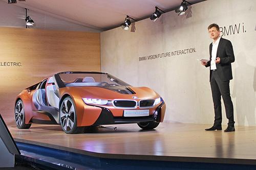 """Bất ngờ với siêu xe tự lái BMW i8 Spyder """"trong mơ"""" - 2"""