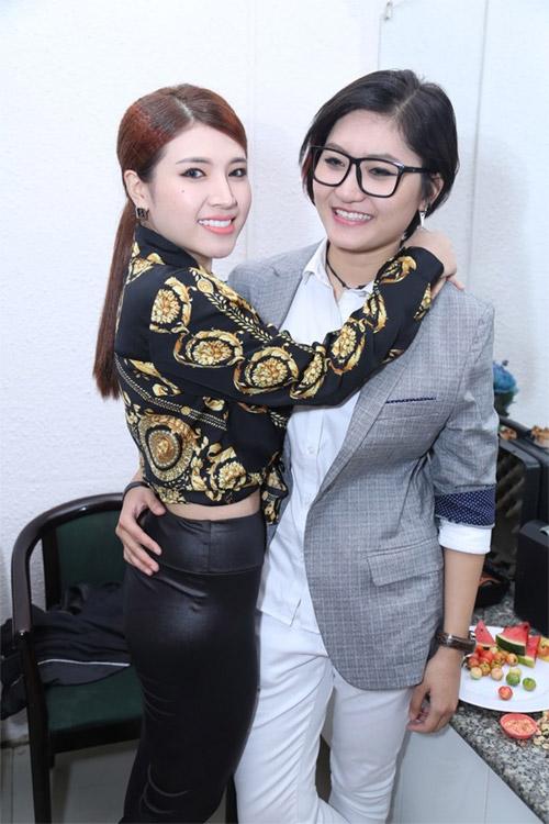 Vicky Nhung phủ nhận tin đồn yêu Tố Ny - 2