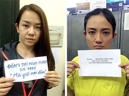Đề nghị truy tố 2 má mì môi giới Á khôi bán dâm ngàn đô - 1