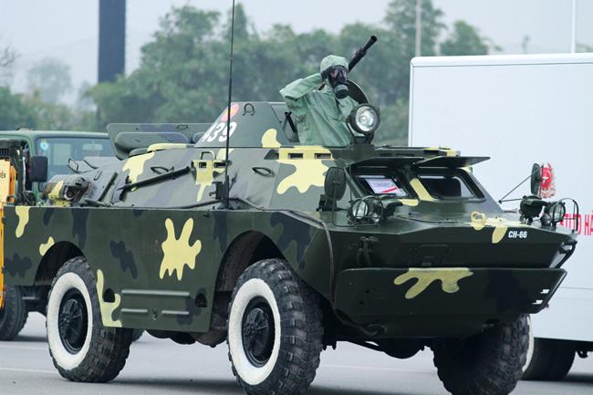 Dàn trực thăng, xe chuyên dụng xuất quân bảo vệ Đại hội Đảng - 8