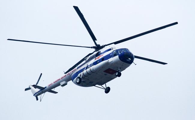 Dàn trực thăng, xe chuyên dụng xuất quân bảo vệ Đại hội Đảng - 12
