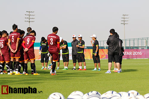 """U23 Việt Nam """"sướng"""" với sân tập đẳng cấp ở Qatar - 3"""