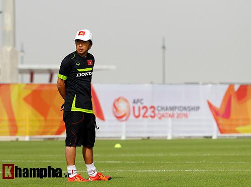 """U23 Việt Nam """"sướng"""" với sân tập đẳng cấp ở Qatar - 2"""