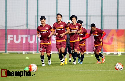 """U23 Việt Nam """"sướng"""" với sân tập đẳng cấp ở Qatar - 4"""