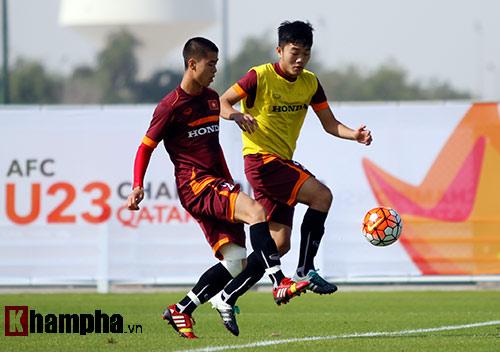 """U23 Việt Nam """"sướng"""" với sân tập đẳng cấp ở Qatar - 6"""