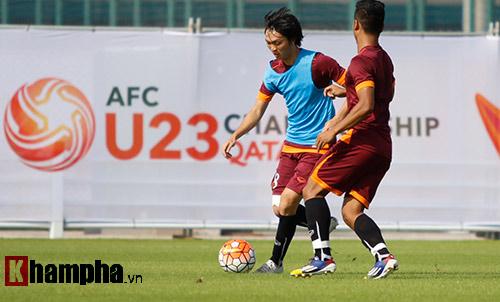 """U23 Việt Nam """"sướng"""" với sân tập đẳng cấp ở Qatar - 7"""