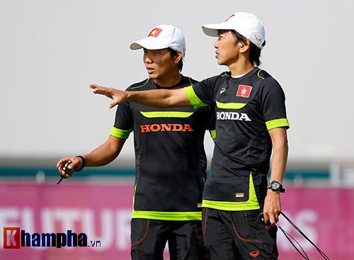 """U23 Việt Nam """"sướng"""" với sân tập đẳng cấp ở Qatar - 9"""