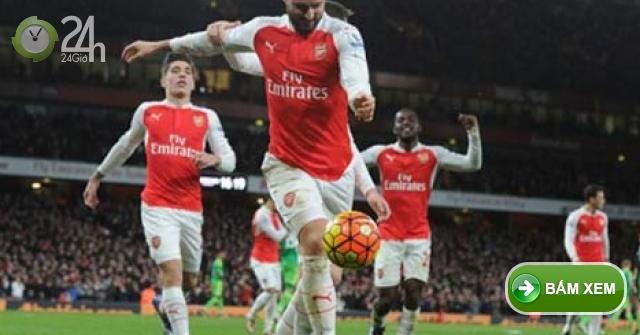 Truc tiep Arsenal vs Sunderland, Link xem clip trực tuyến