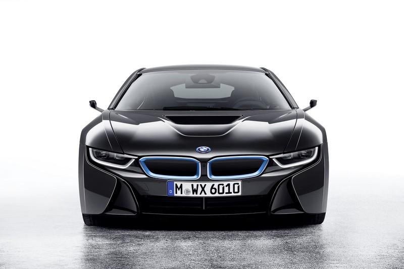 Hệ thống camera độc đáo của BMW i8 Mirrorless concept - 1
