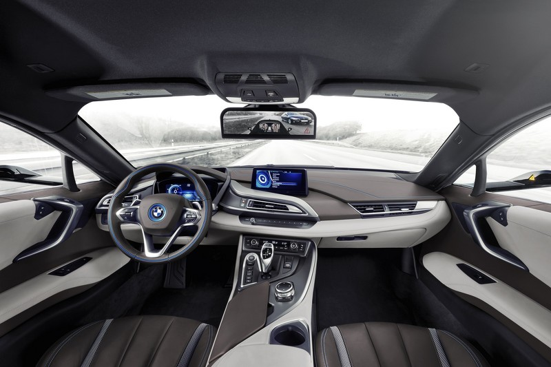 Hệ thống camera độc đáo của BMW i8 Mirrorless concept - 2