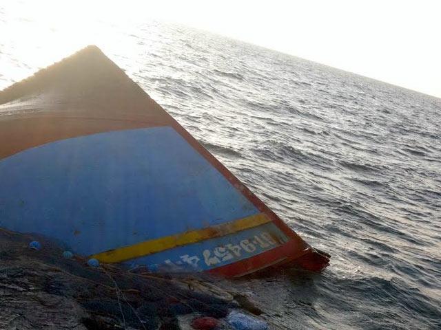 Chìm tàu cá chở 14 thuyền viên ở Vũng Tàu - 1
