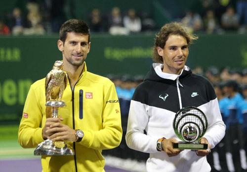 Đánh hỏng cú sở trường, Nadal tự đấm vào đầu - 1