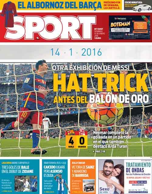 Chỉ cần chân trái, Messi lập hat-trick thứ 33 cho Barca - 2