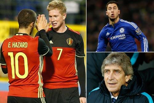 Chồng sẵn 80 triệu bảng, Man City tranh Hazard với Real - 1