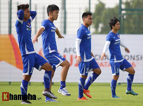 10 cảnh sát bảo vệ buổi tập của U23 Việt Nam ở Qatar - 6