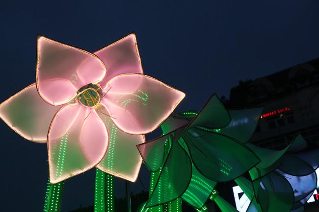 Đã tháo dỡ hoa trang trí ở đài phun nước hồ Hoàn Kiếm - 11